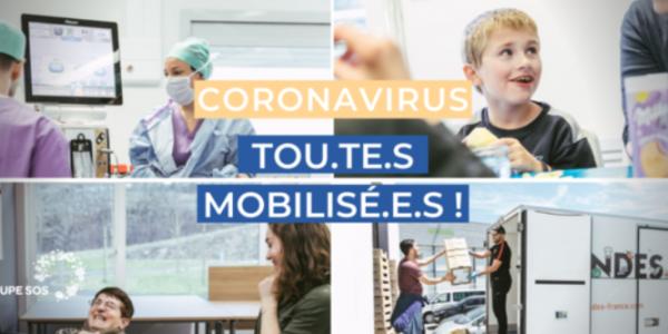 Coronavirus : tou.te.s mobilisé.e.s !